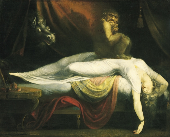 The Nightmare, by Henry Fuseli (1781)